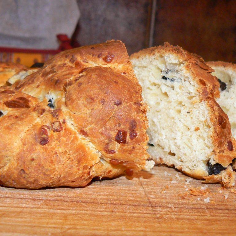 duona su parmezanu