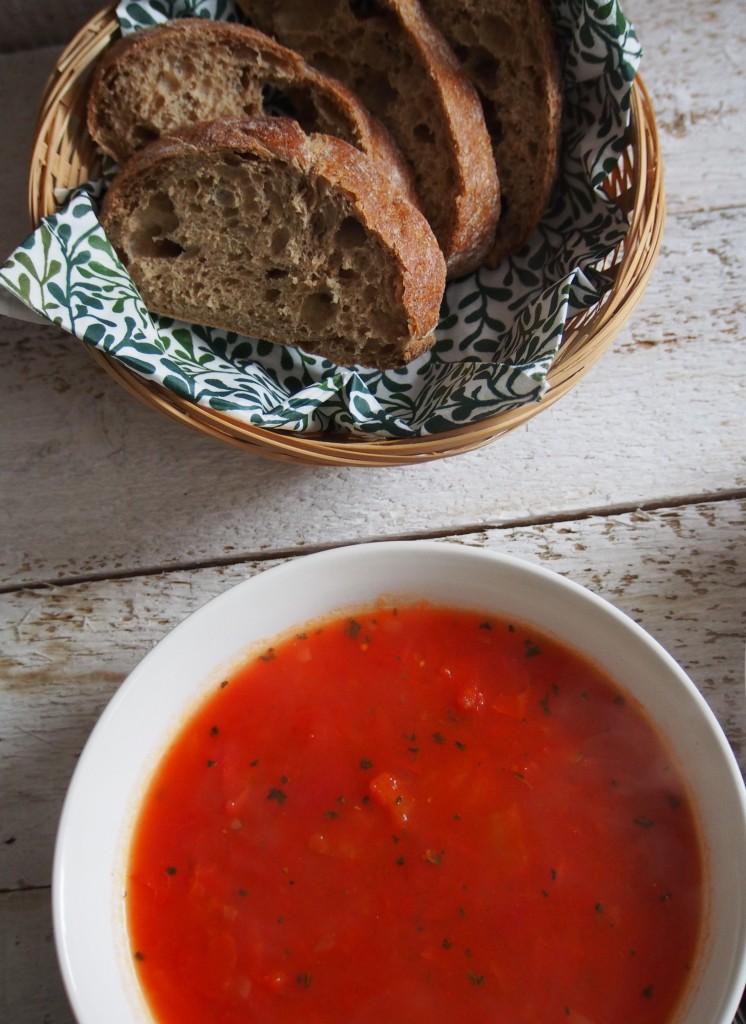 Pomidorų tyrsriubė