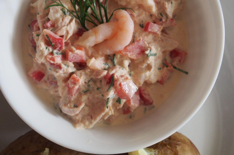 Bulvės su tunų padažu