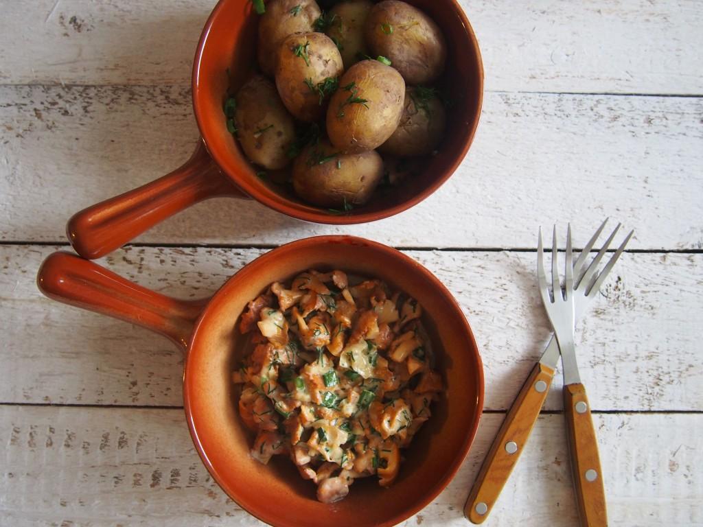 bulvės su voveraitėmis