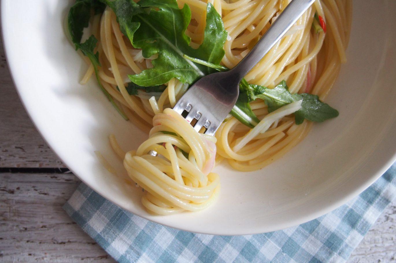 spageciai su krabu mesa
