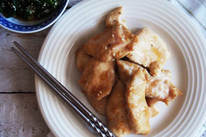 vištiena korėjietiškai
