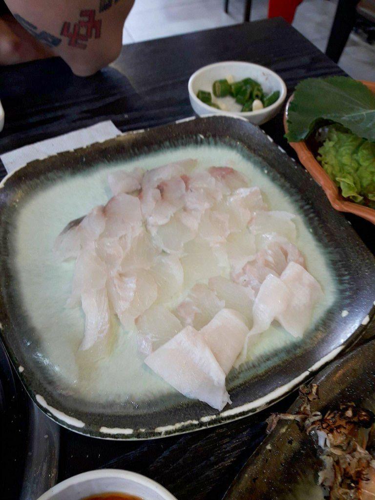 Žalia žuvis – hoe