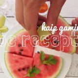 kaip gaminti be recepto