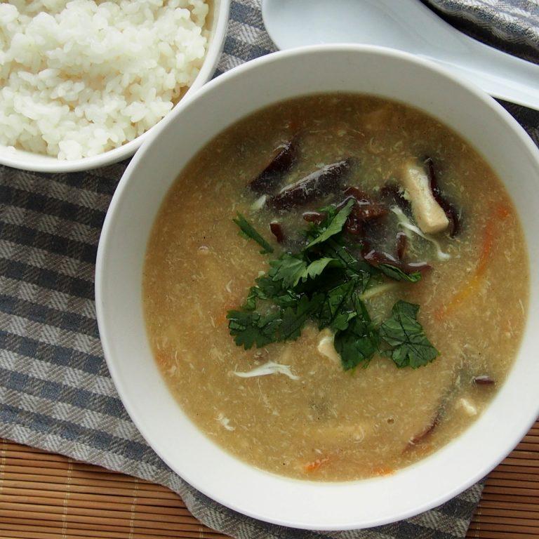 aštriarūgštė sriuba