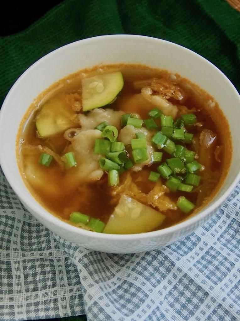 kimči sriuba